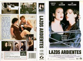 Carátula dvd: Lazos ardientes (1996) Bound