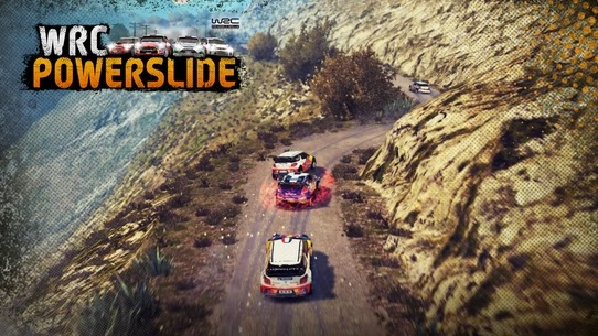 Gameplay WRC Powerslide