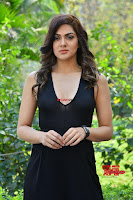 Sakshi Chaudhary in beuatiful black Deep neck Top and trousers at oollo pelliki kukka ~  Exclusive Galleries 006.jpg
