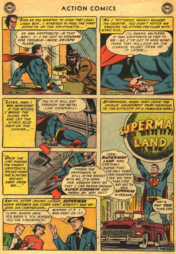 Read online Action Comics (1938) comic -  Issue #210 - 16