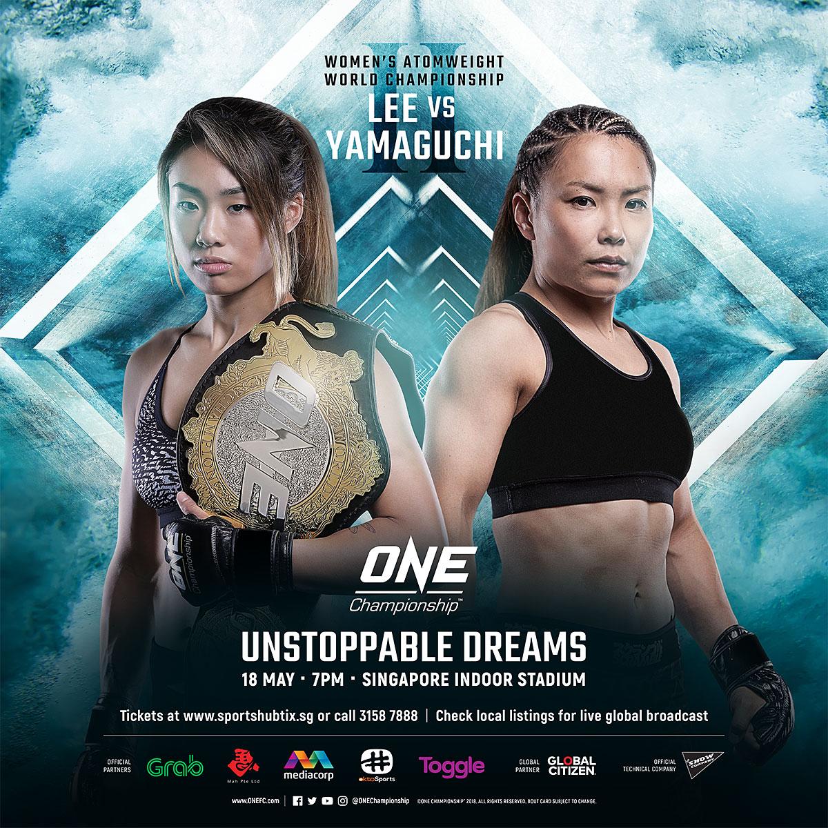 Картинки по запросу ONE Championship 73: Unstoppable Dreams.