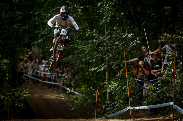 2016 Cairns UCI World Cup Downhill: Race Highlights - Josh Button