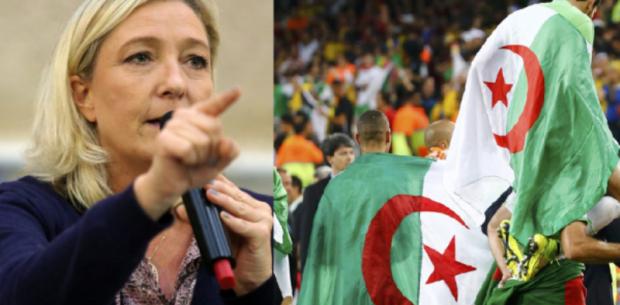 بغات فيهم الخدمة.. لوبين تدعو إلى منع الجزائريين من دخول فرنسا