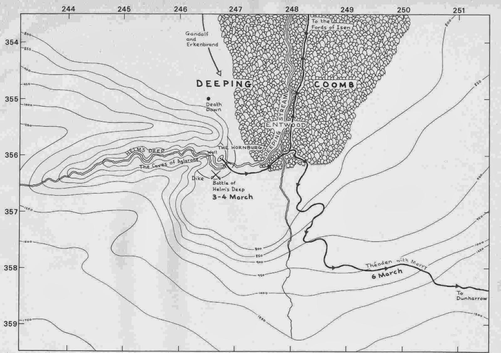 LA CIENCIA DE LA VIDA: La Geología de El señor de los anillos ...