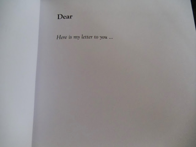 inside a Dear Mum journal - from you to me