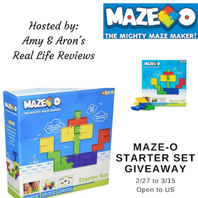 Enter the Maze-O Starter Set Giveaway. Ends 3/15
