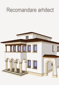 Profile decorative - proiect de arhitectura pentru fatade case realizate de arhitect