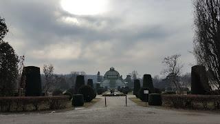 The Palmenhaus Schonbrunn Palace Vienna.