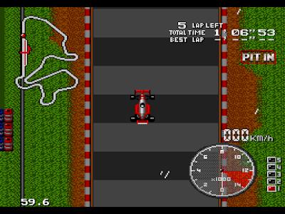 【MD】F1中嶋悟賽車:大獎賽,日本傳奇車手競速遊戲!