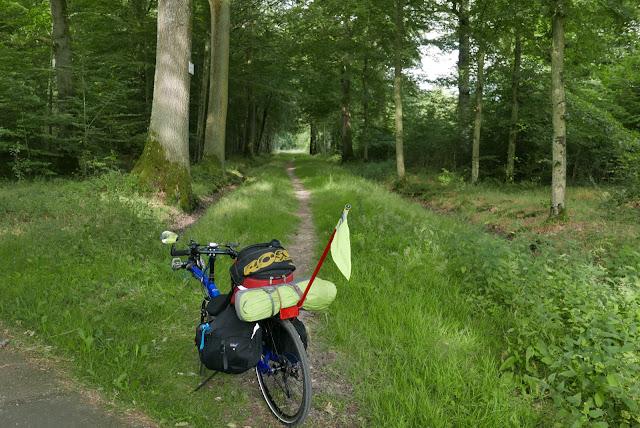 En vélo de Paris à la Normandie, Forêt de Rambouillet