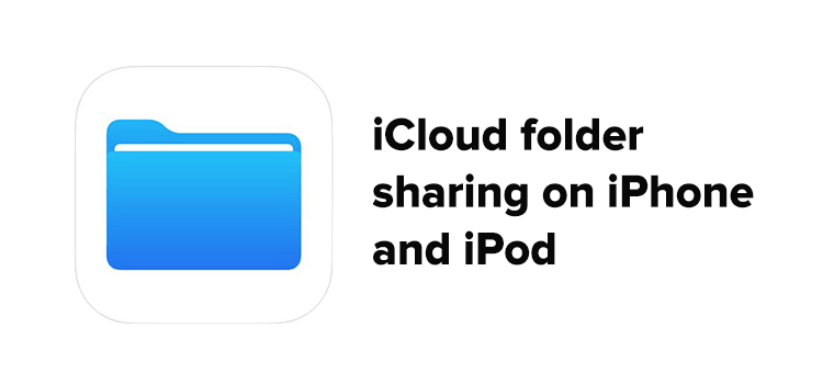 Share file to others on iCloud