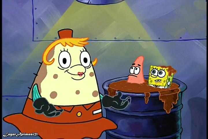 SpongeBob Season 3 Episode 5B - Doing Time SD 480p Dub Indo