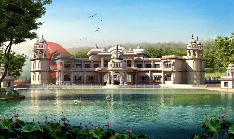 3D Rendering Palace