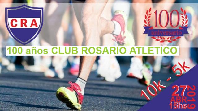 10k y 5k Club Rosario Atlético (Rosario - Colonia, 27/abr/2019)