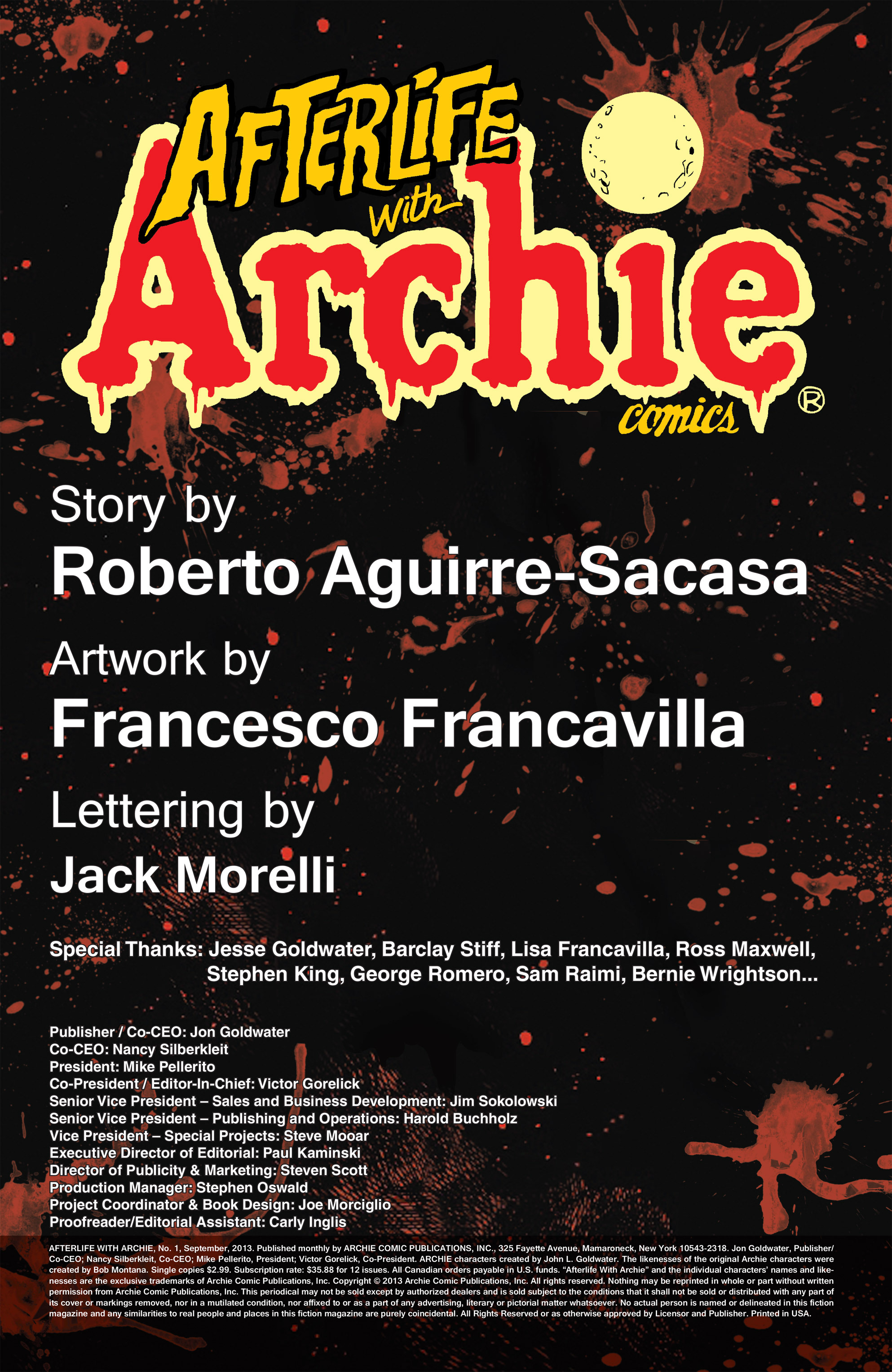 Read online Afterlife with Archie comic -  Issue #1 - 2