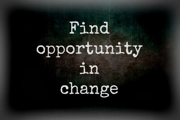Find opportunity in change. Free Printable on Crazylou.