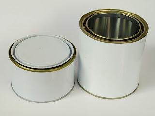 Sản xuất thiếc tráng đựng sơn nước, lon đựng háo chất mạnh, lon đựng sơn dầu 17