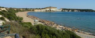 Isla de Zante, playa de Gerakas.