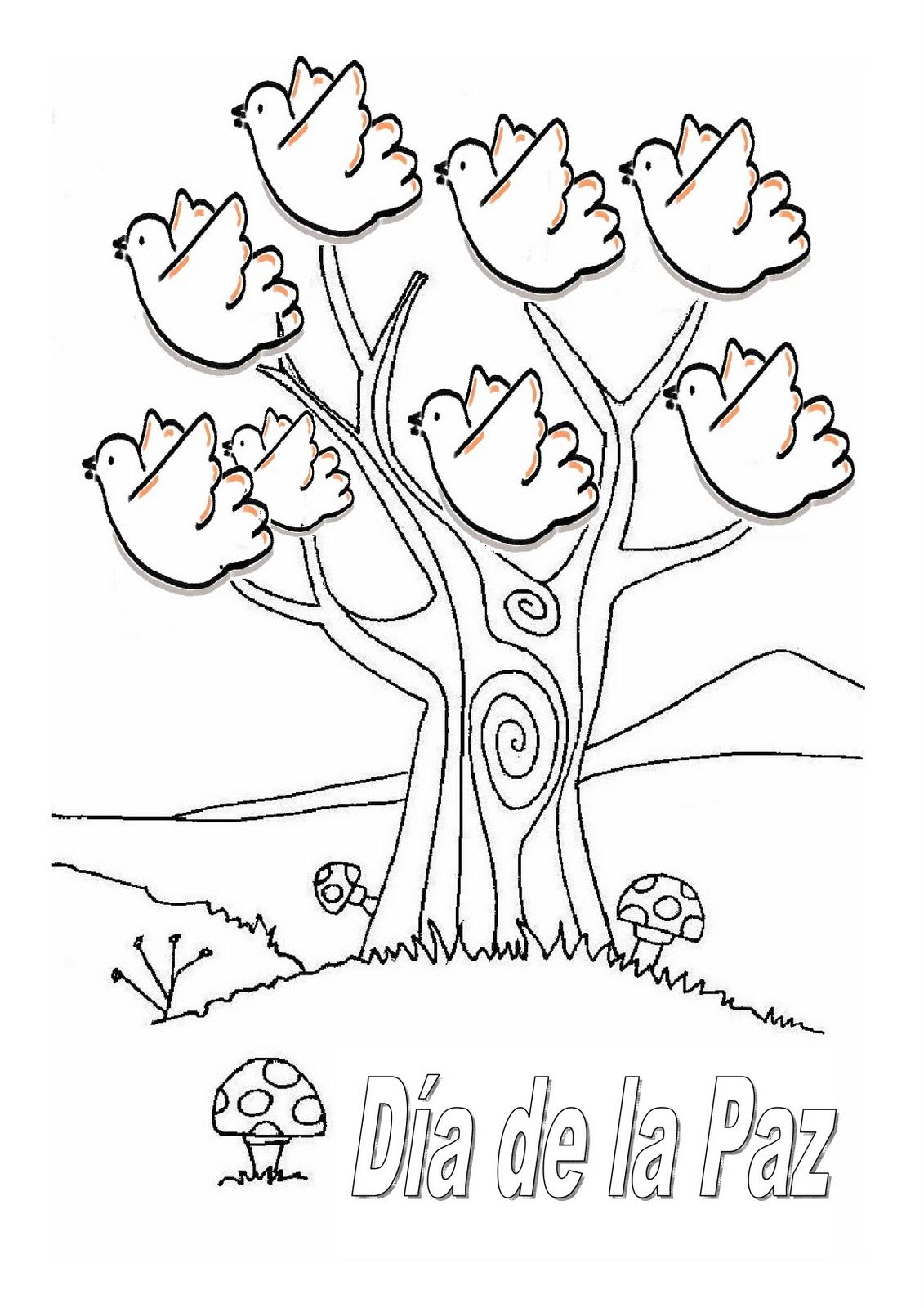 Educar con Jess: Dibujos sobre la paz