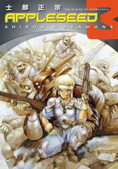 Beauty Re Rendered Masamune Shirow Appleseed Manga Series