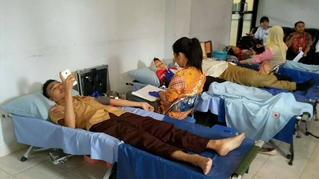 UKM KSR-PMI Unit 127 Gelar Donor Darah Untuk kemanusiaan