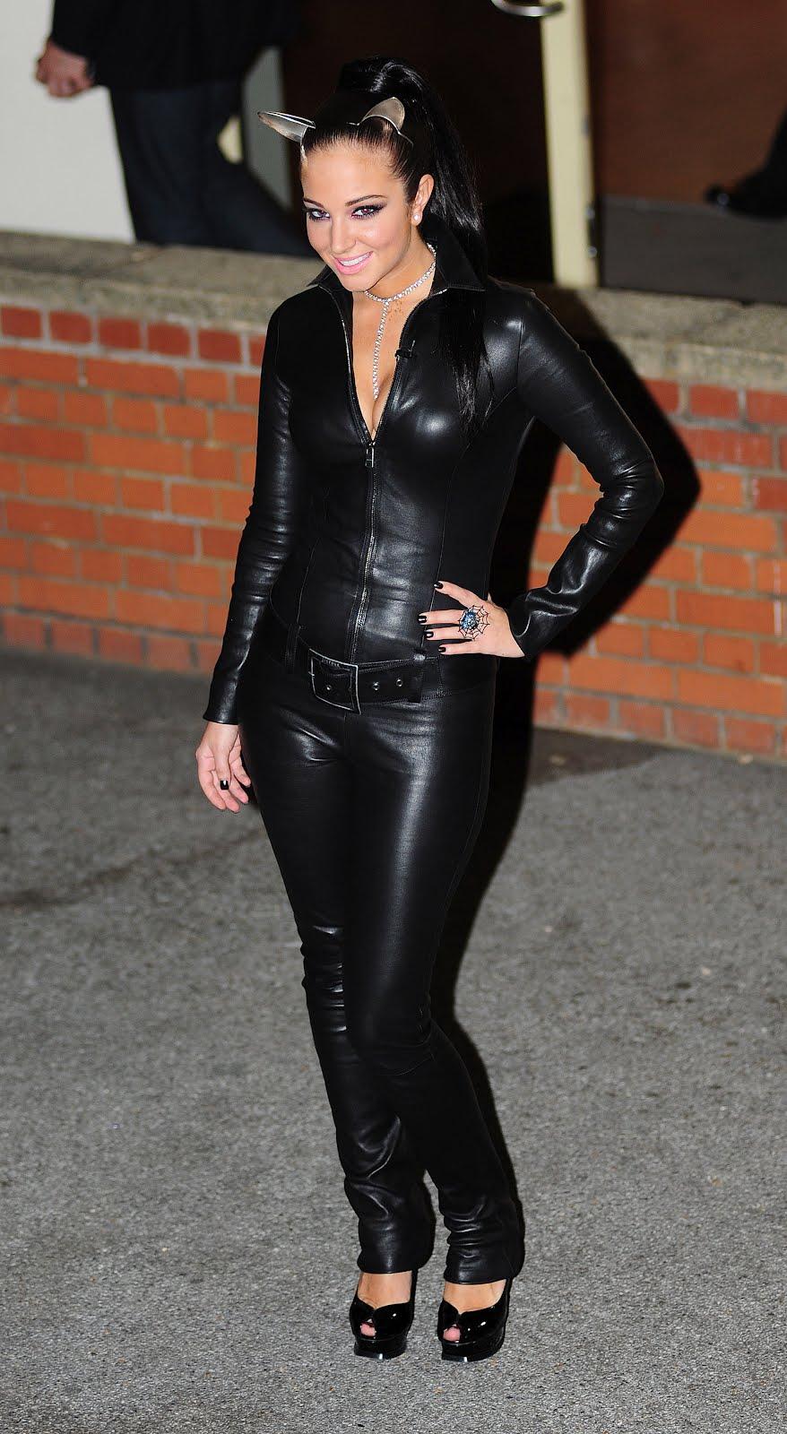 Leather Leather Leather Blog: Tulisa Contostavlos Leather ...