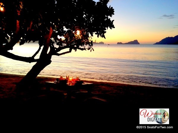 Candlelight Dinner at The Beach Shack, El Nido
