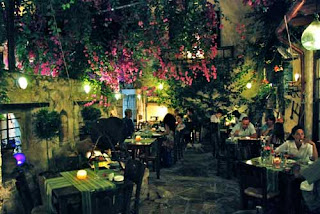 Romantic Resteraurant Rethymno Crete Greece