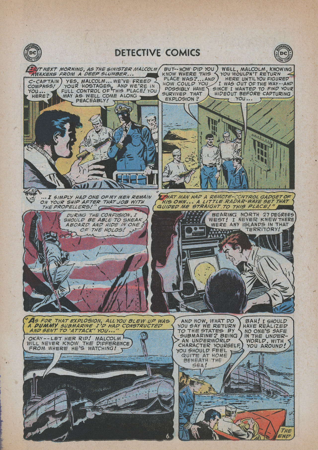 Read online Detective Comics (1937) comic -  Issue #219 - 22
