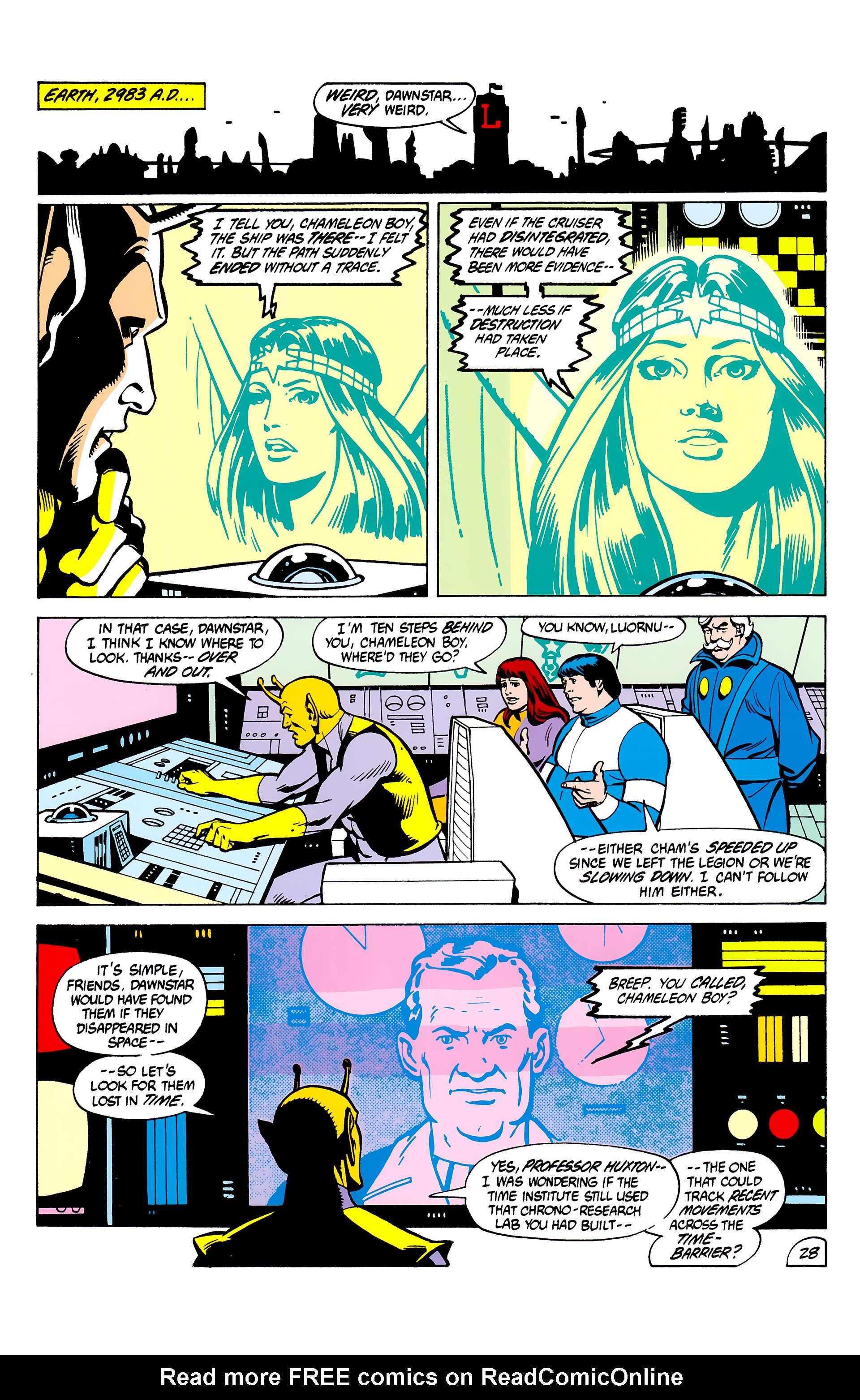 Legion of Super-Heroes (1980) _Annual_2 Page 28