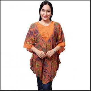 Model baju batik wanita untuk kerja terbaru
