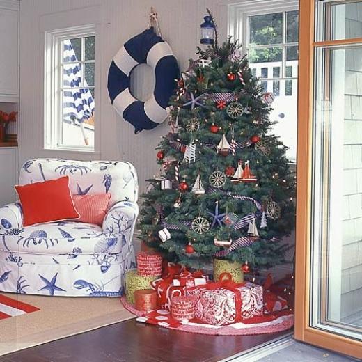 Nautical Christmas Tree