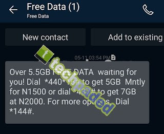 How To Subscribe Airtel N1500 for 5.5GB, N2000 for 7GB Plan