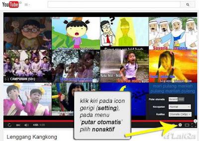 Tampilan Situs Youtube