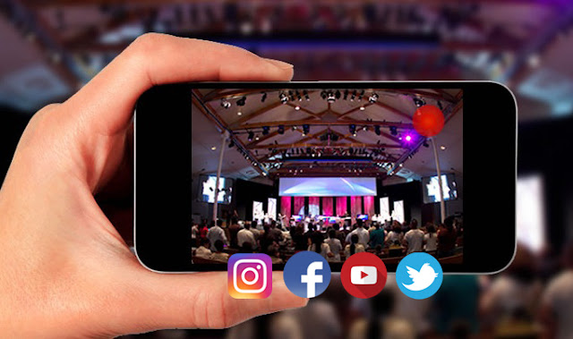 Live Streaming di Instagram, Facebook, Twitter, dan Youtube