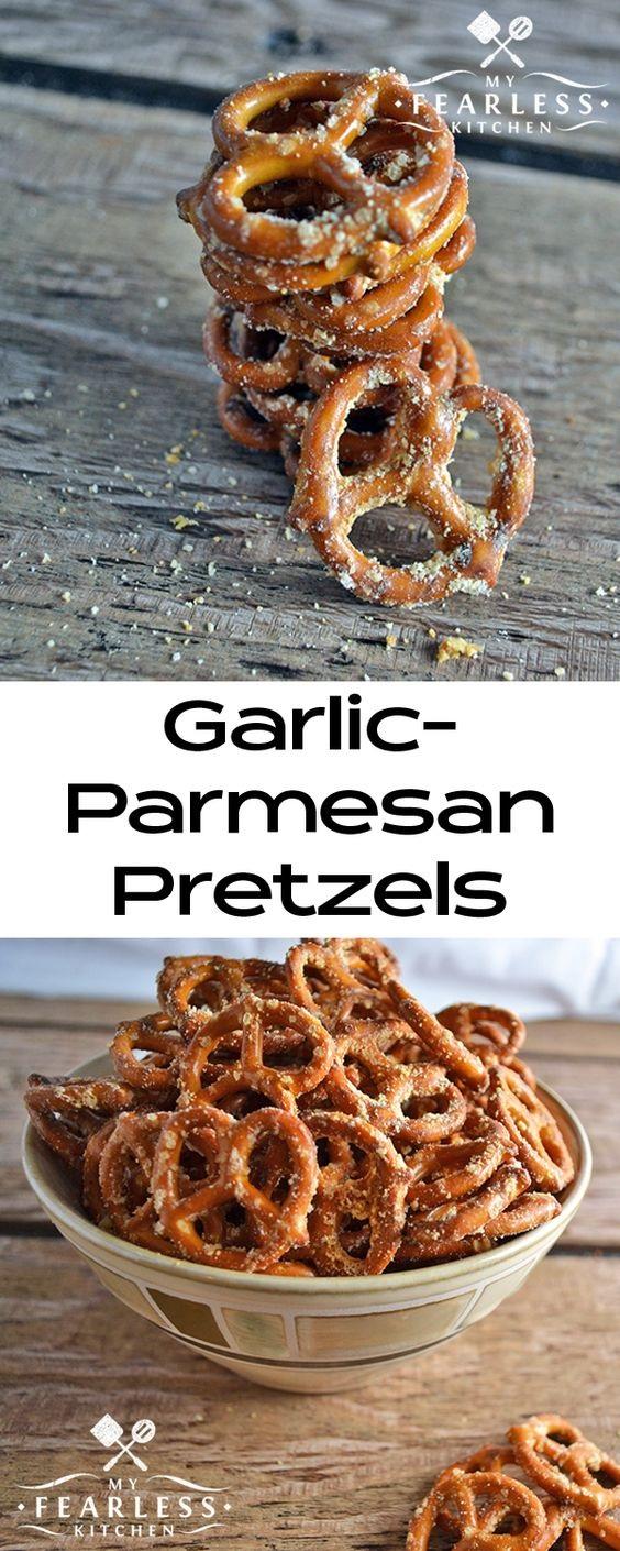Garlic-Parmesan Pretzels