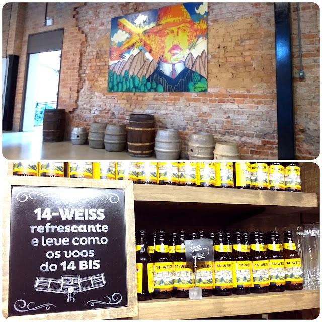 Cerveja que homenageia o 14 Bis