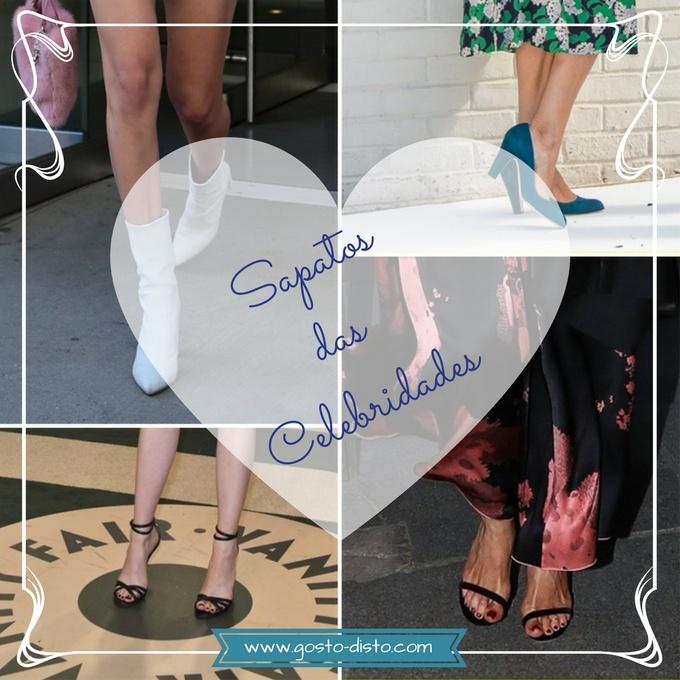 Sapatos das famosas