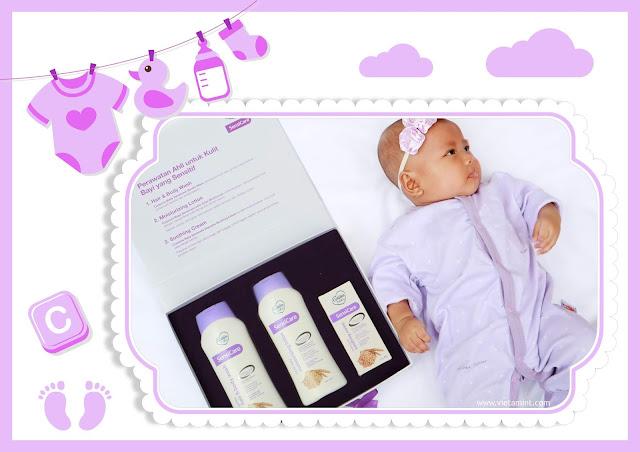 cussons baby sensicare mengatasi kulit kering pada bayi