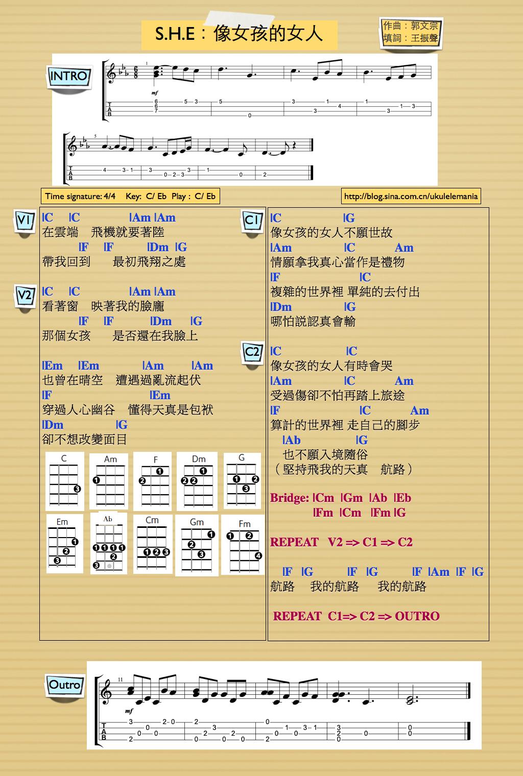 ukulelemania: 二月 2014
