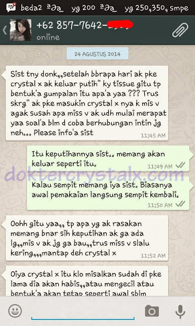 Testimoni Manfaat Crystal X Asli NASA 8