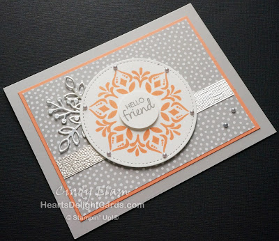 Heart's Delight Cards, Happiness Surrounds, Hello Friend, Stampin' Up!