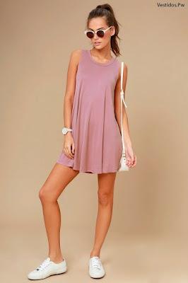 vestidos de moda cortos casuales
