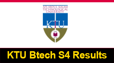 KTU Btech S4 Results 2017