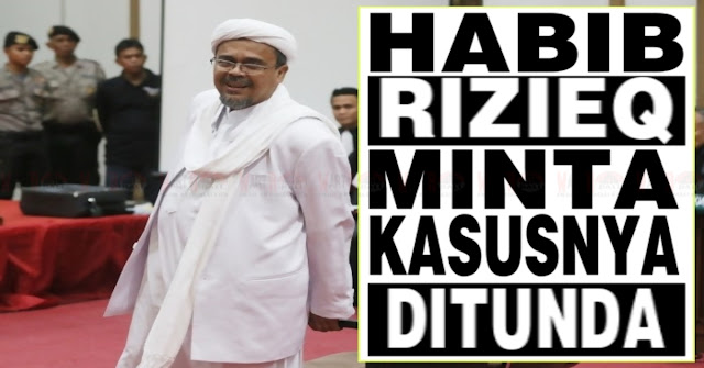 Sempat Janji Hadir, Kini Habib Rizieq Minta Kasus Mesum Ditunda Pekan Depan, Ini Alasannya