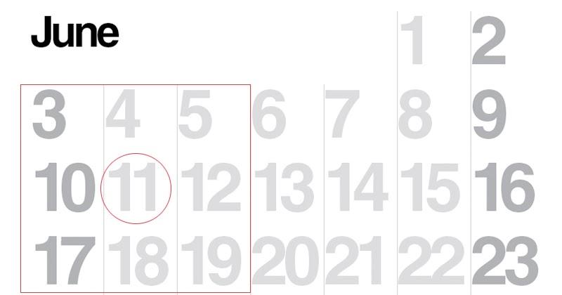 E is for Explore!: Calendar Magic 9