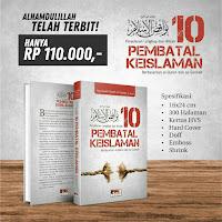 Buku 10 Pembatal Keislaman Ash Shaf