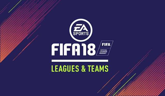FIFA 18: times e Ligas