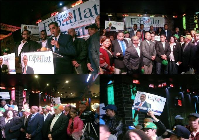 Todos los partidos se unen en NY en apoyo a Espaillat
