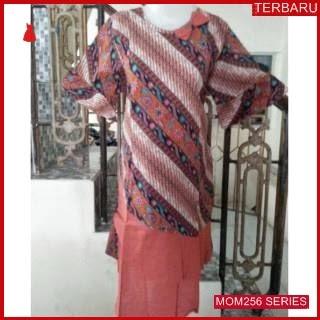 MOM256D16 Dress Hamil Menyusui Pita Batik Dresshamil Ibu Hamil